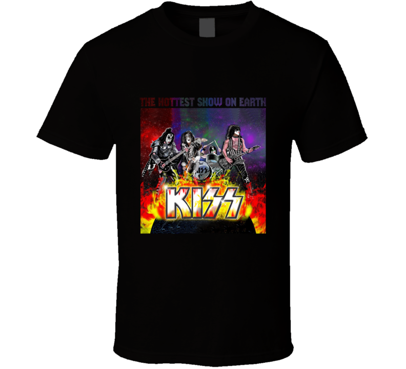 Kiss Poster  Cover T Shirt