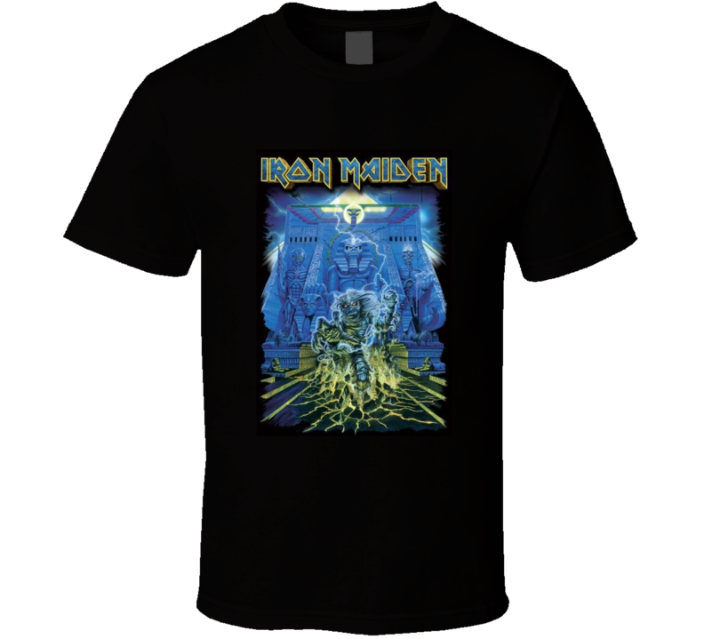 Iron Maiden Tomb Poster T Shirt