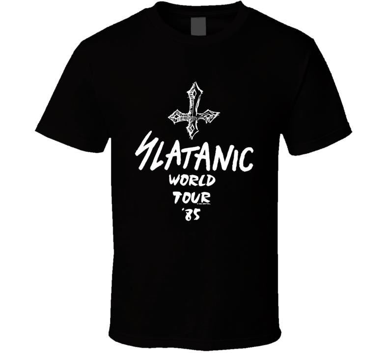 Slayer Slatanic Wehrmacht  Tour T Shirt