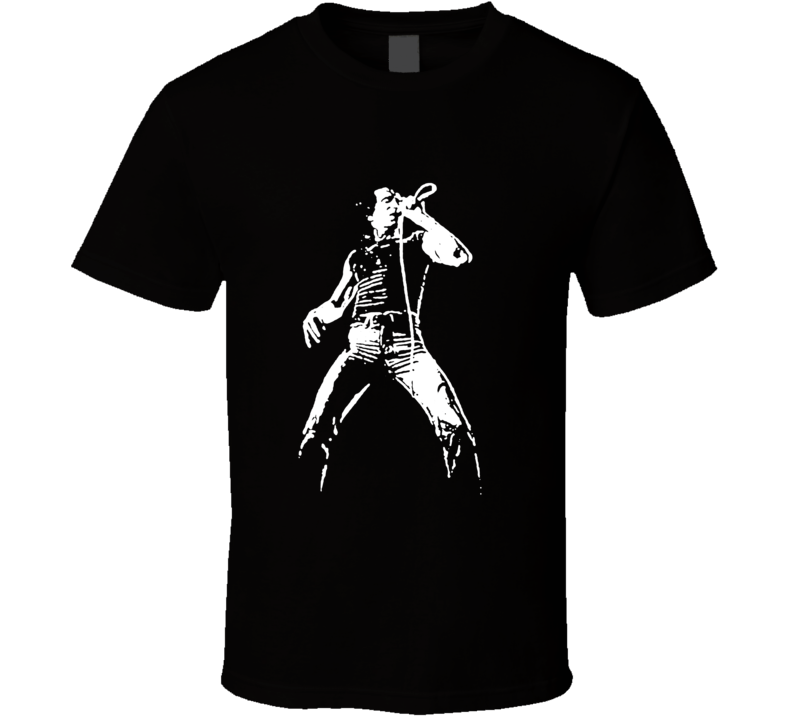 Bon Scott Acdc Heavy Metal Vintage Style Guitar Rock T Shirt