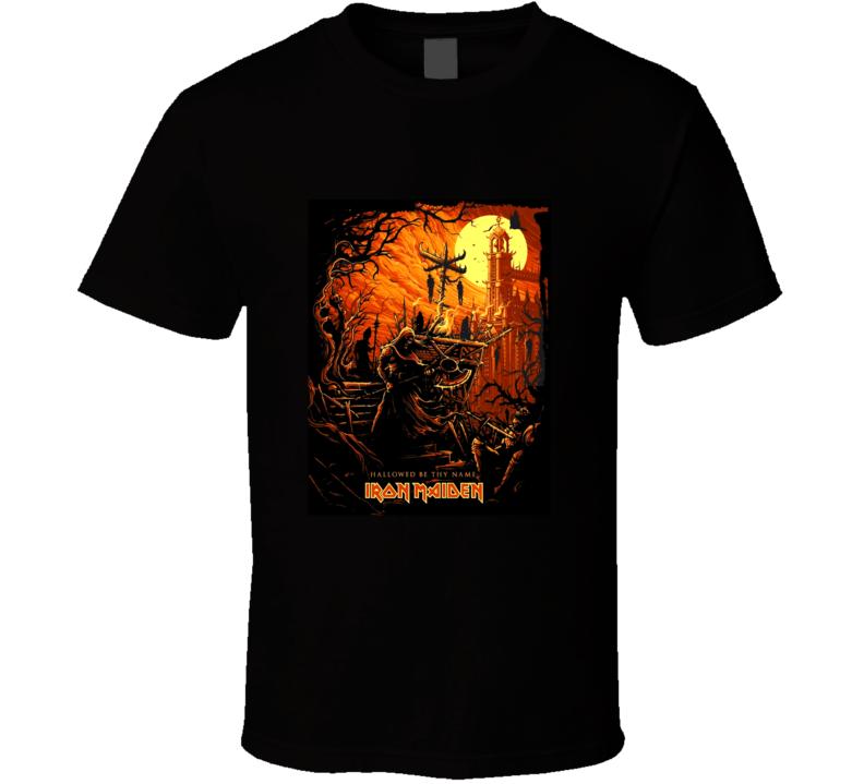 Iron Maiden Rare Iron Maiden T Shirt