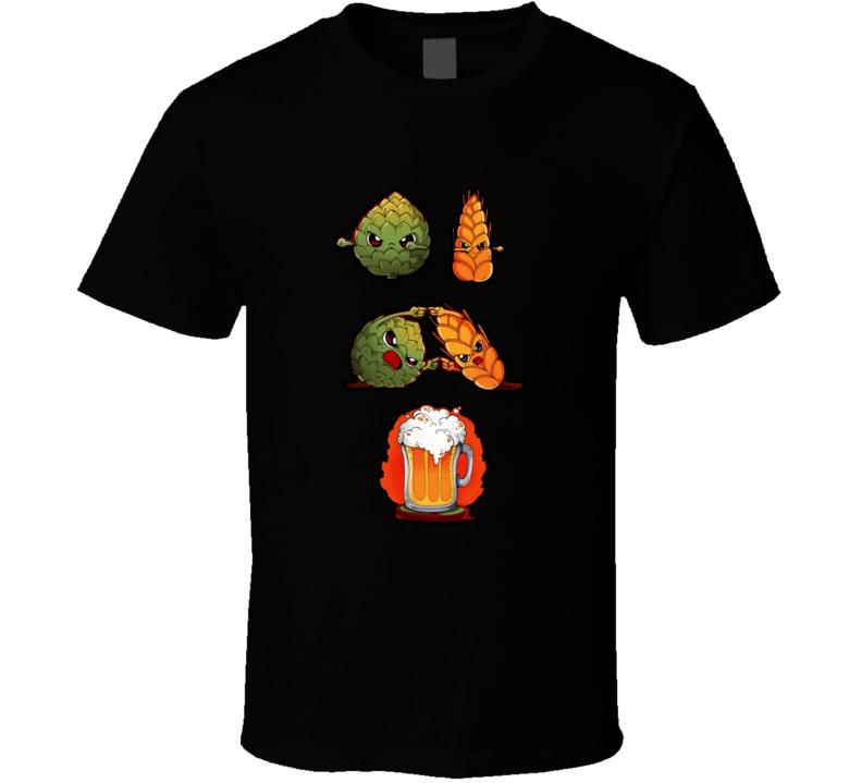 Beer Fusion T Shirt