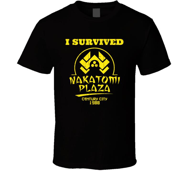I Survived Nakatomi Plaza T Shirt