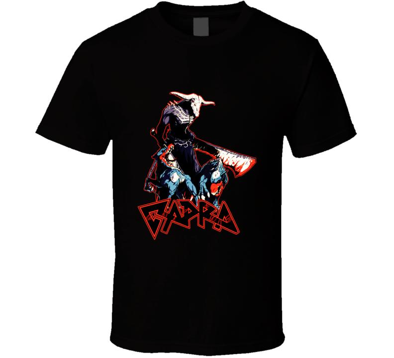 Capra Demon Dark Souls Metal Band T Shirt