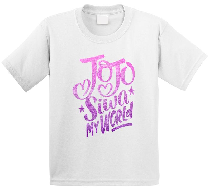 Jojo Siwa My World T Shirt