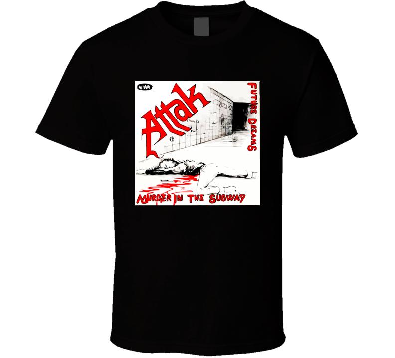 Attak Murder In The Subway Ep No Future T Shirt