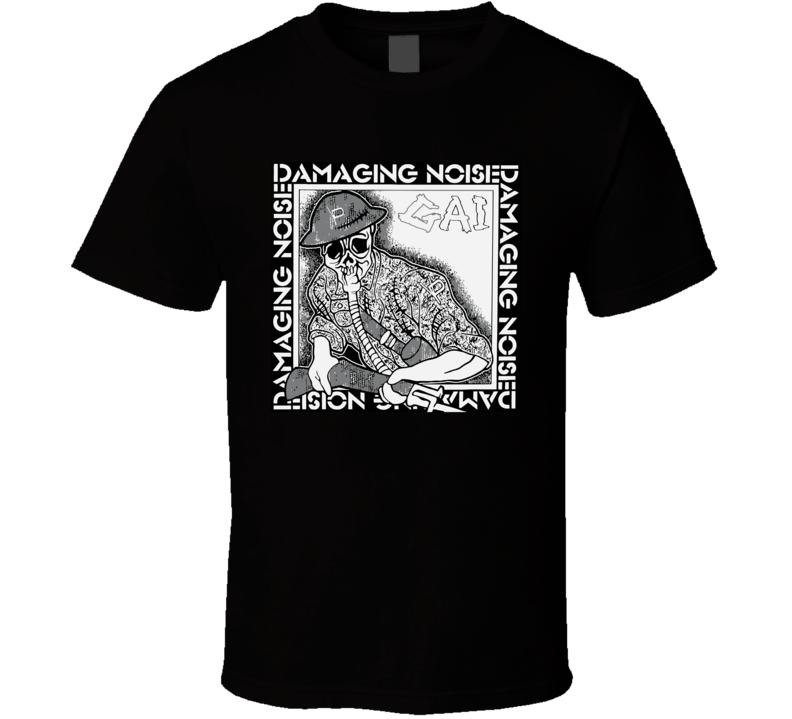 Gai Damaging Noise Swankys Japan Punk T Shirt