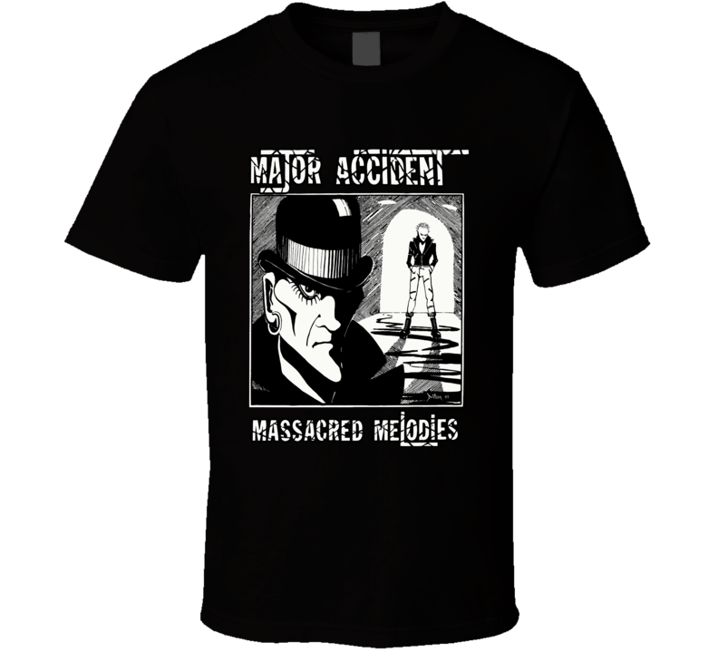Major Accident Uk Punk Clockwork T Shirt