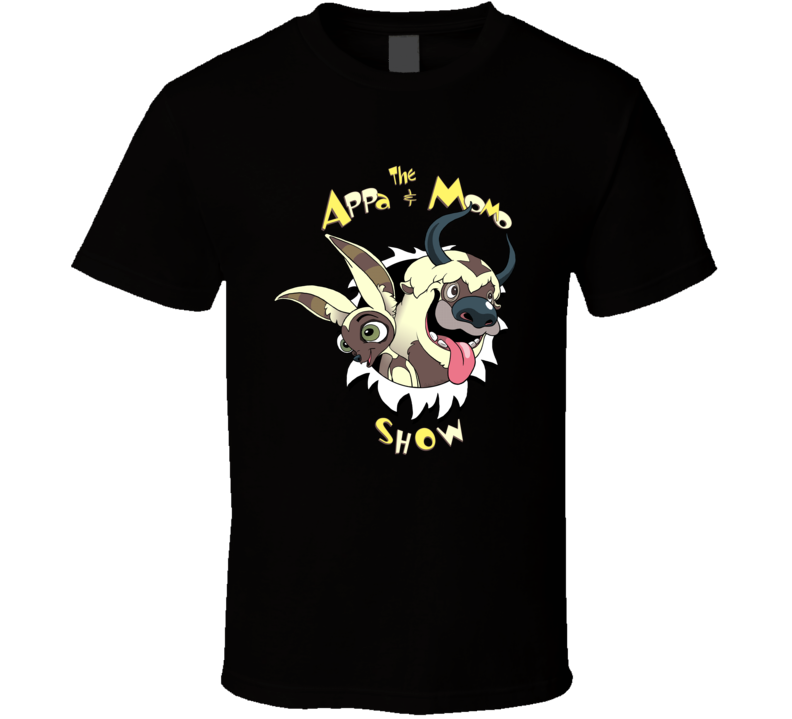 The Appa And Momo Show T Shirt