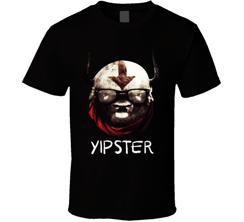 Yipster Appa Avatar Hipster Sky Bison T Shirt