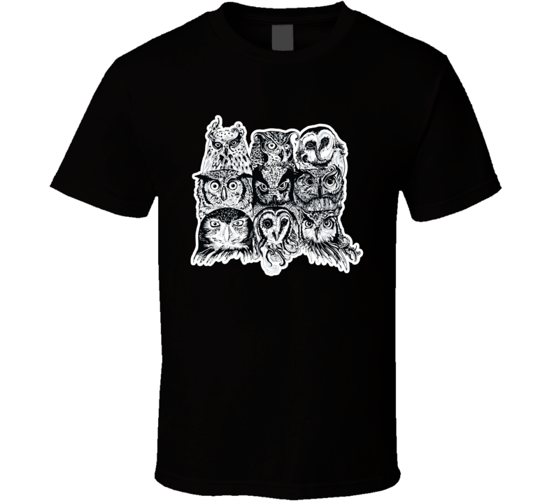 Nine Owls T Shirt