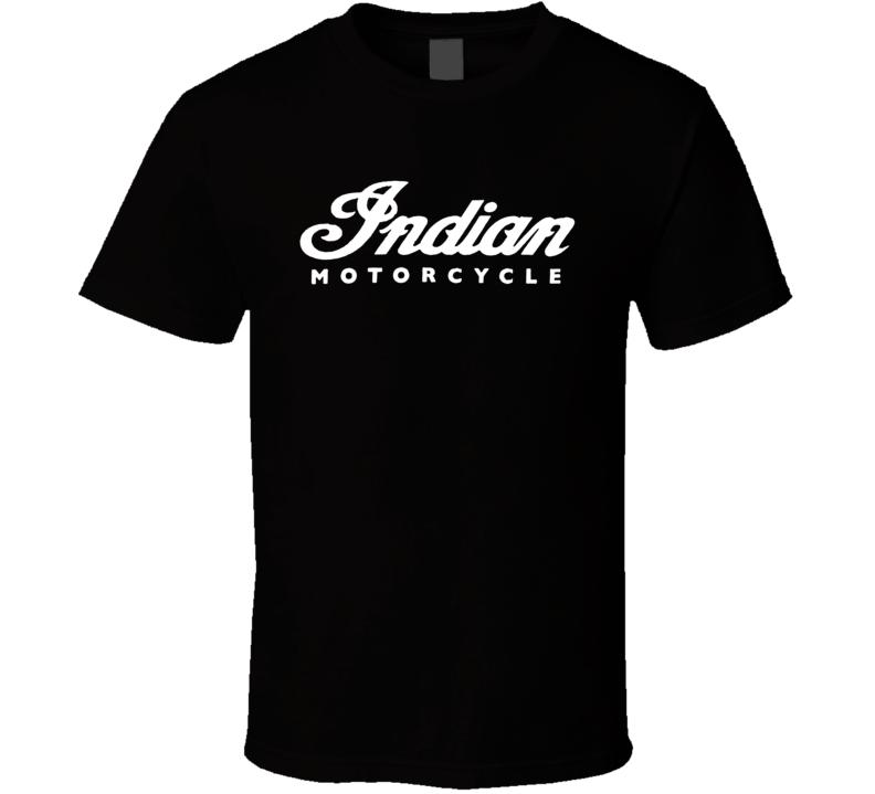 Indian Motorcycle Logo T Shirt