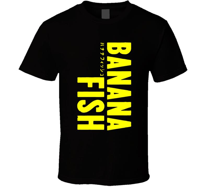 Anime Banana Fish Cosplay T Shirt