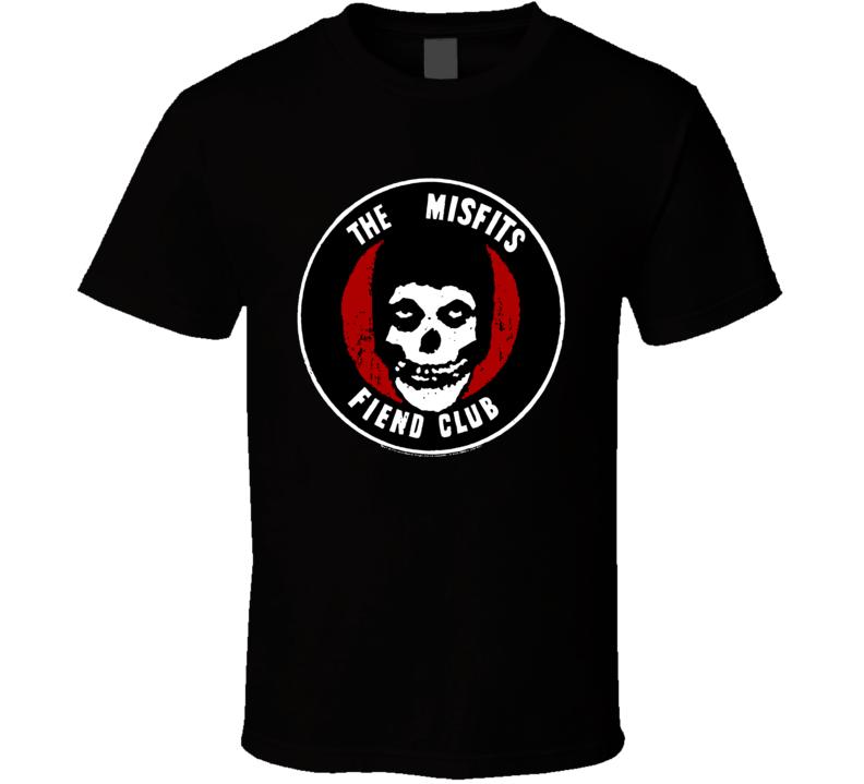 The Misfits Fiend Club T Shirt