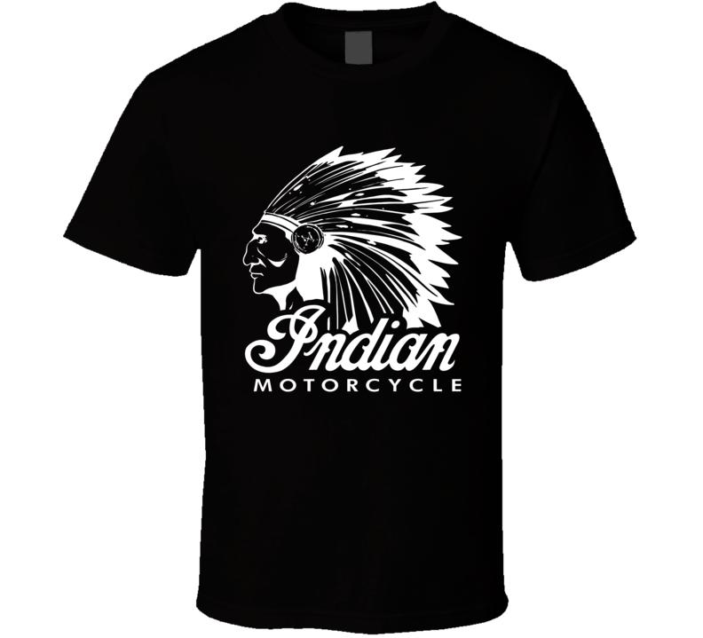 Vintage Indian Motorcycle T Shirt