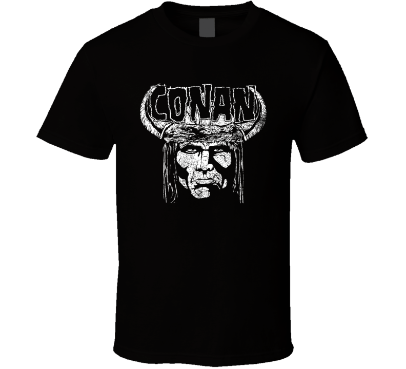 Heavy Metal Barbarian T Shirt