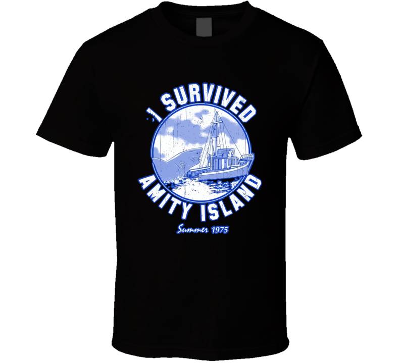 I Survived Amity Island T Shirt