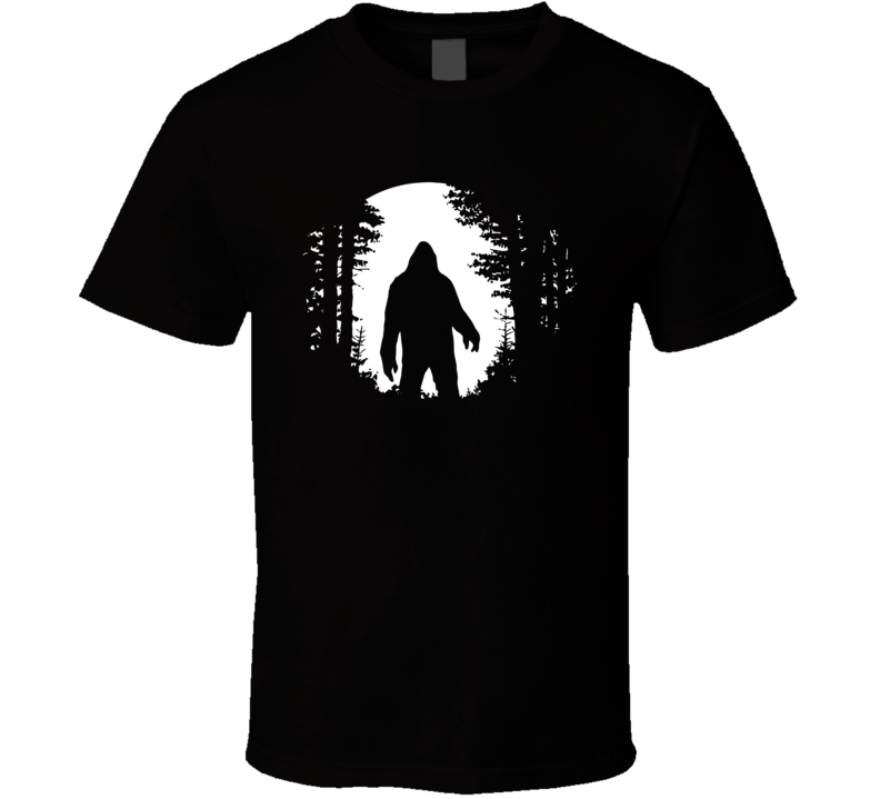 Bigfoot Jackalope Mothman Loch Ness Monster Nessie Cryptid Hunter T Shirt