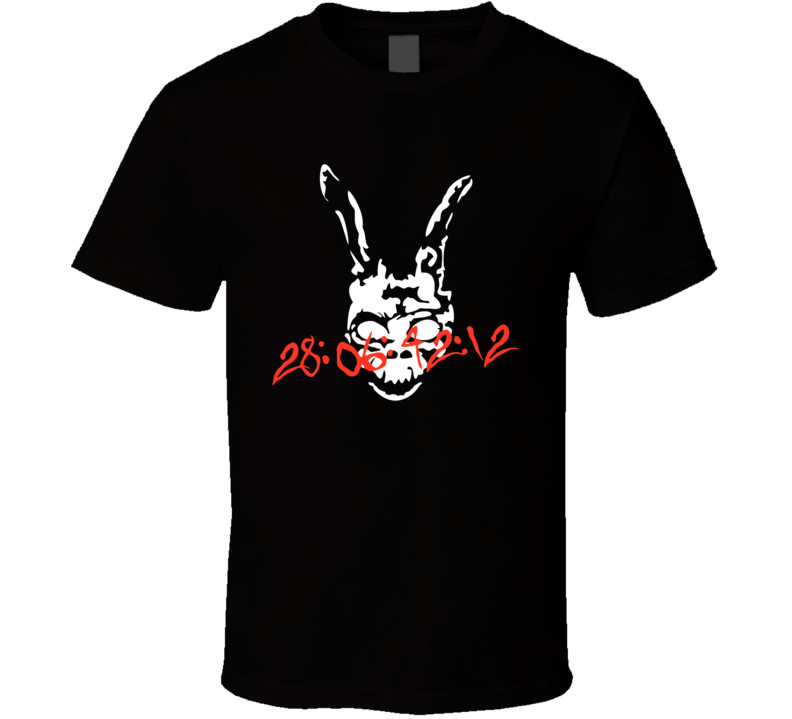 Donnie Darko Frank Countdown 28 06 42 12 T Shirt