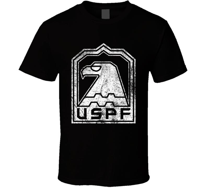 Uspf Escape From New York Logo Grunge T Shirt