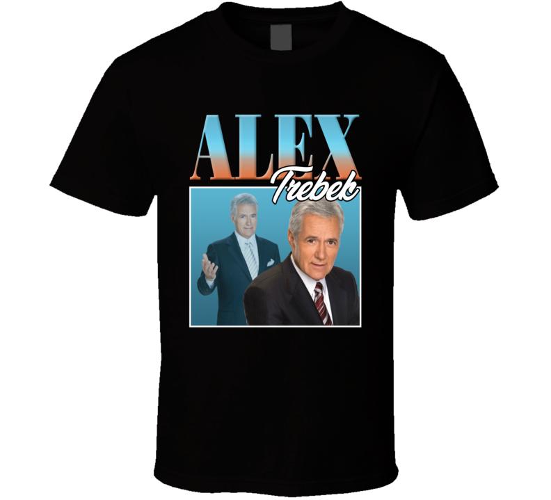 Alex Trebek Jeopardy T Shirt