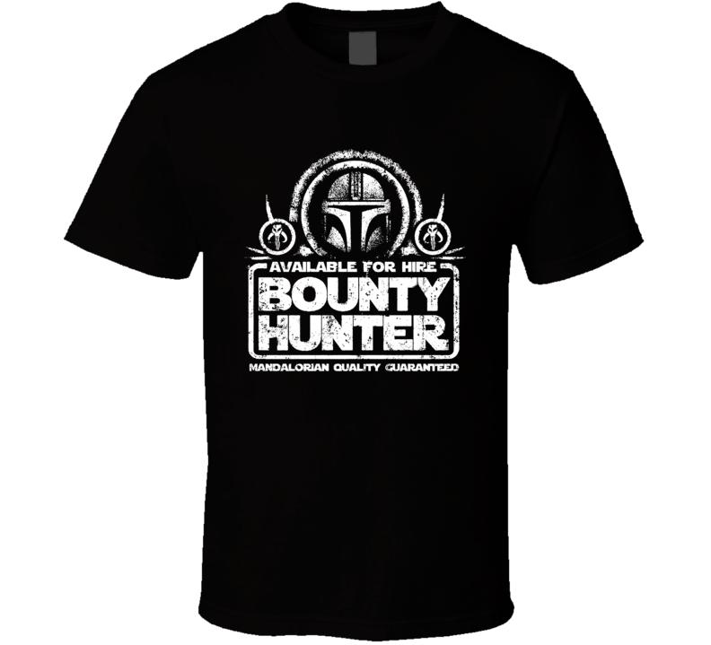 Star Wars Mandalorian The Bounty Hunter T Shirt