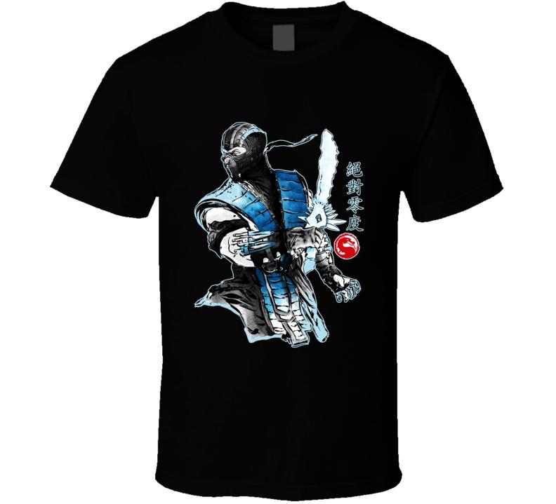 Mortal Kombat Sub Zero The Ice Warrior T Shirt