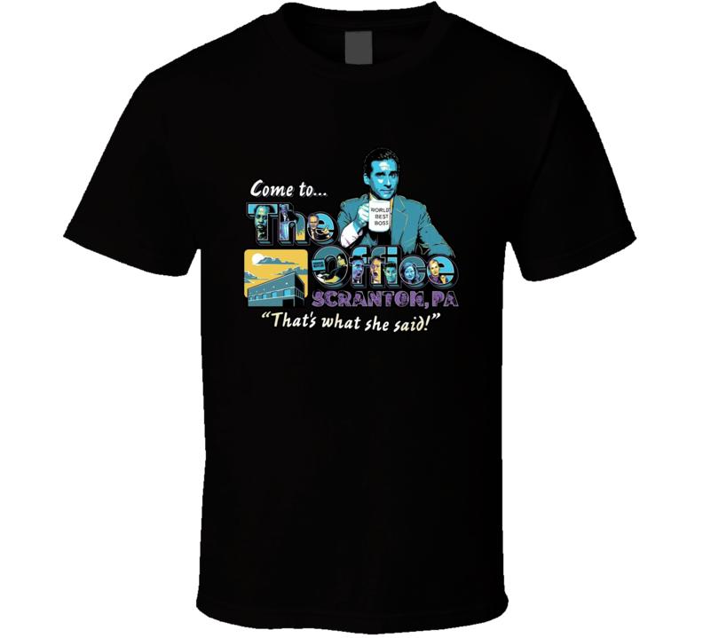 Come To Scranton T Shirt