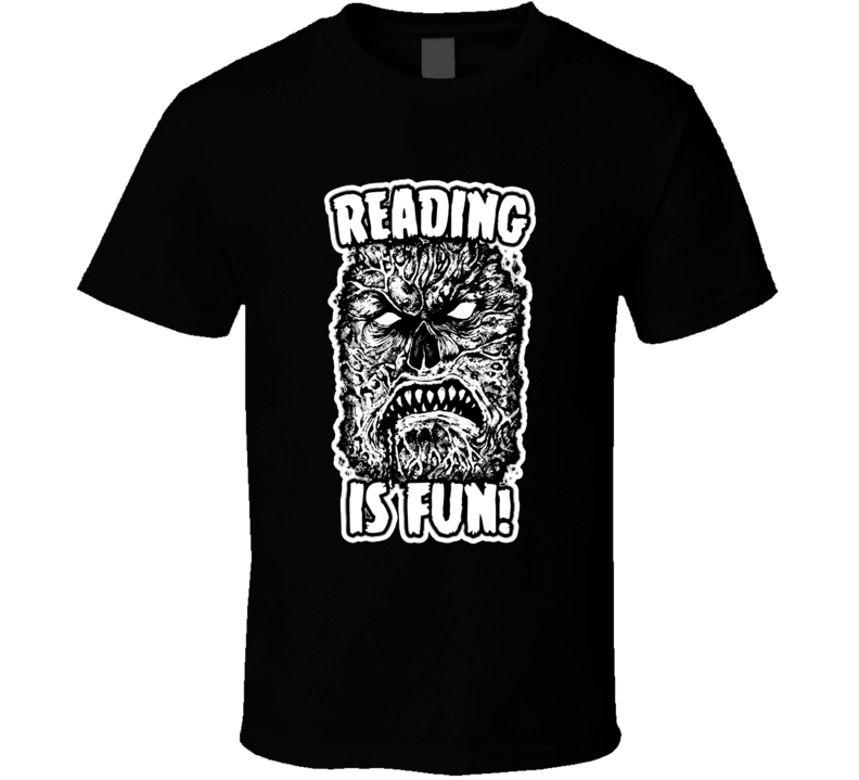 Reading Is Fun Necronomicon T Shirt