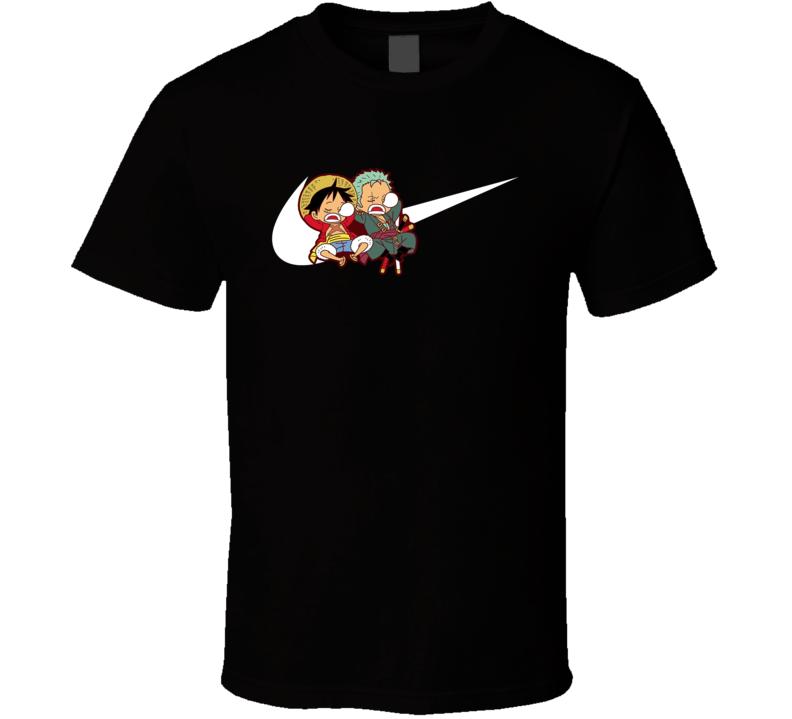 Luffy And Zoro Sleep T Shirt