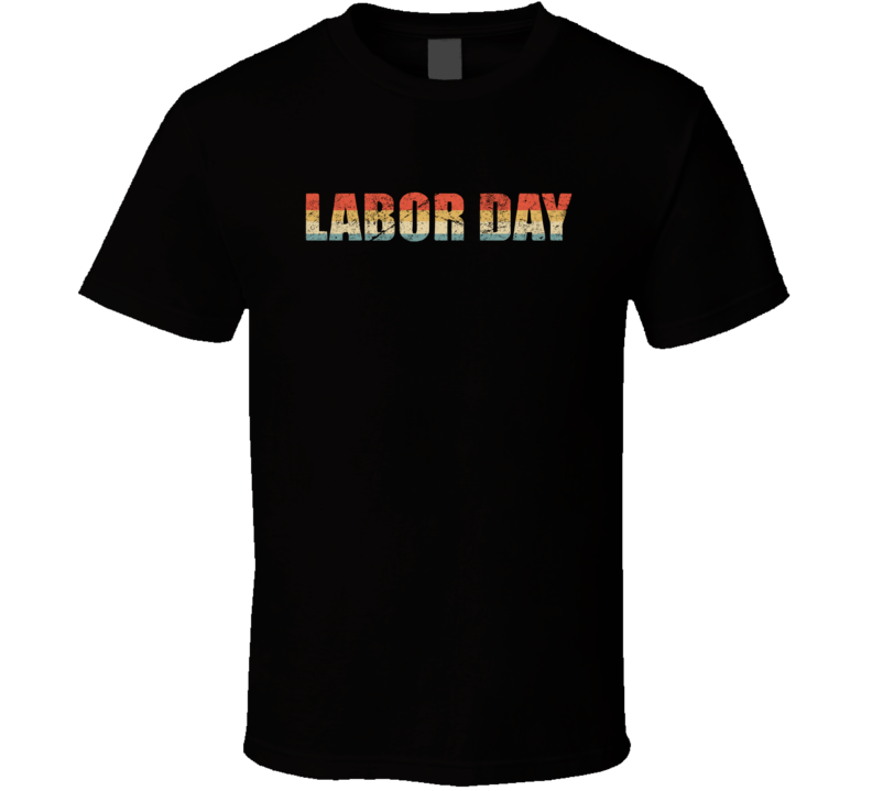 Labor Day Title T Shirt