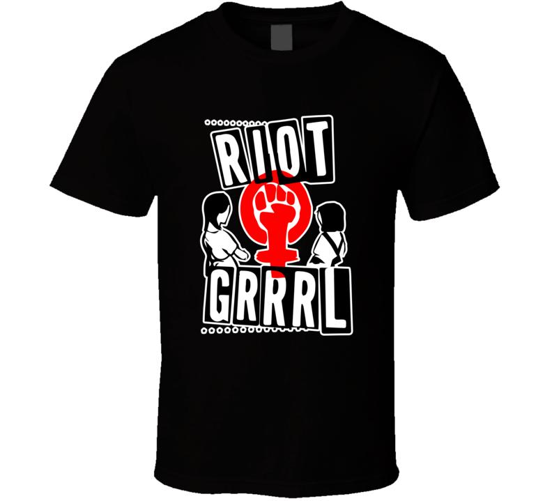 Bikini Kill Riot Grrrl T Shirt