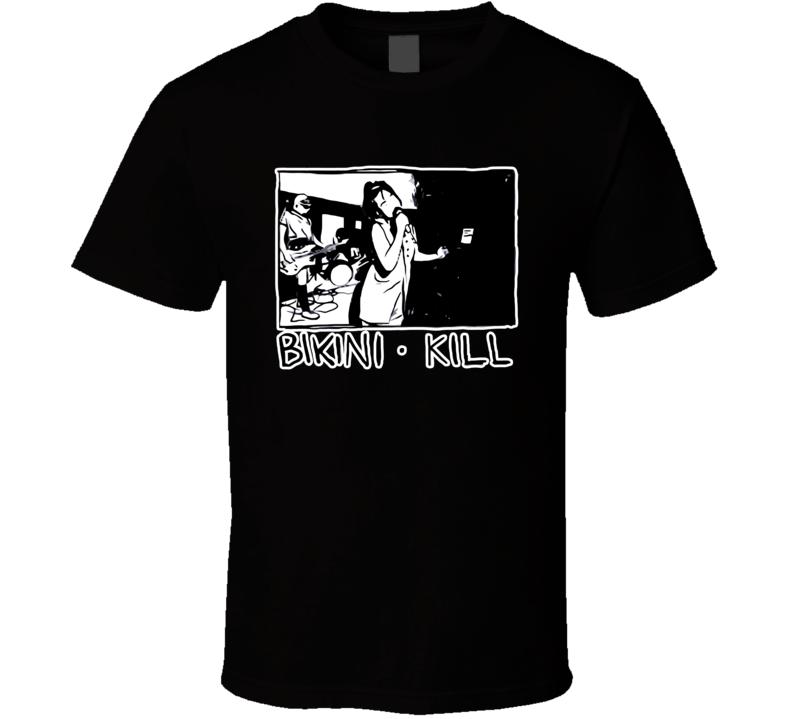 Bikini Kill  90s Band T Shirt