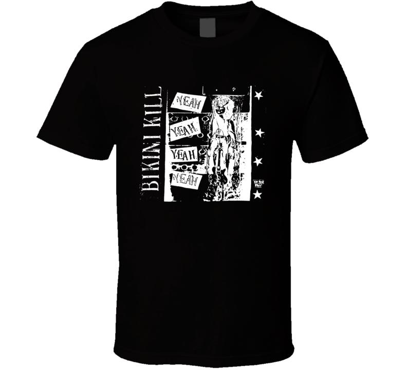 Bikini Kill Yeah Yeah Yeah Vintage T Shirt