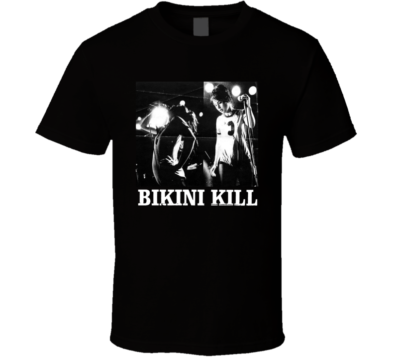 Bikini Kill Concert T Shirt