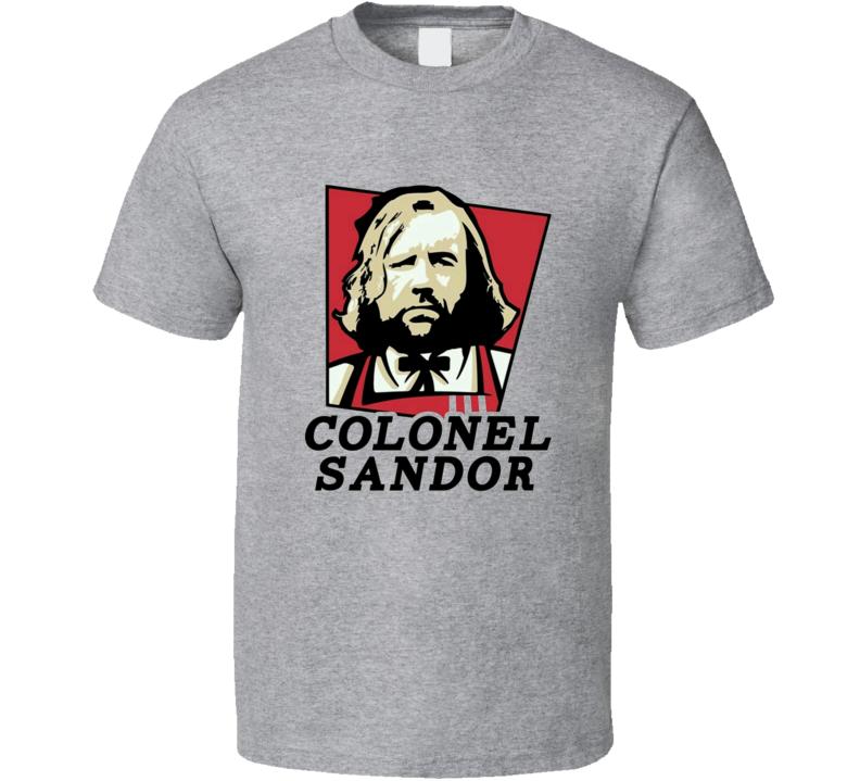 Sandor Clegane Game of Thrones GOT Parody T Shirt
