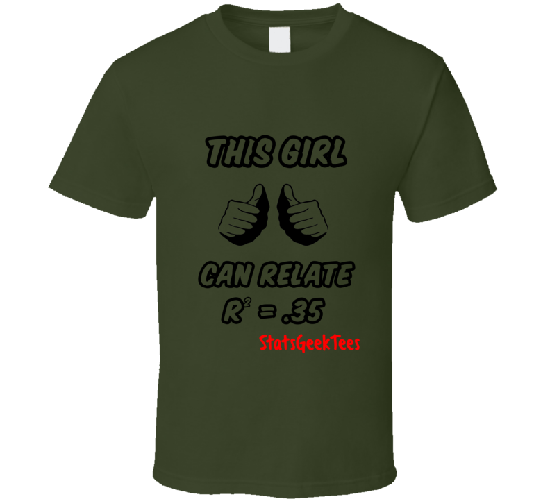 StatsGeekTees promo shirt this girl can relate