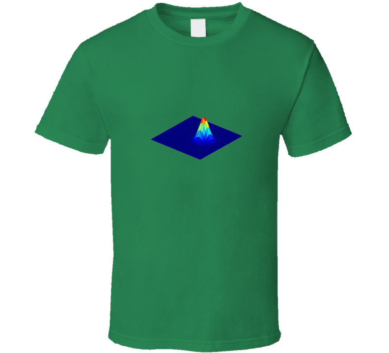 Gaussian Bell Funny unique stats geek or nerd tshirt Great gift for student prof statistician