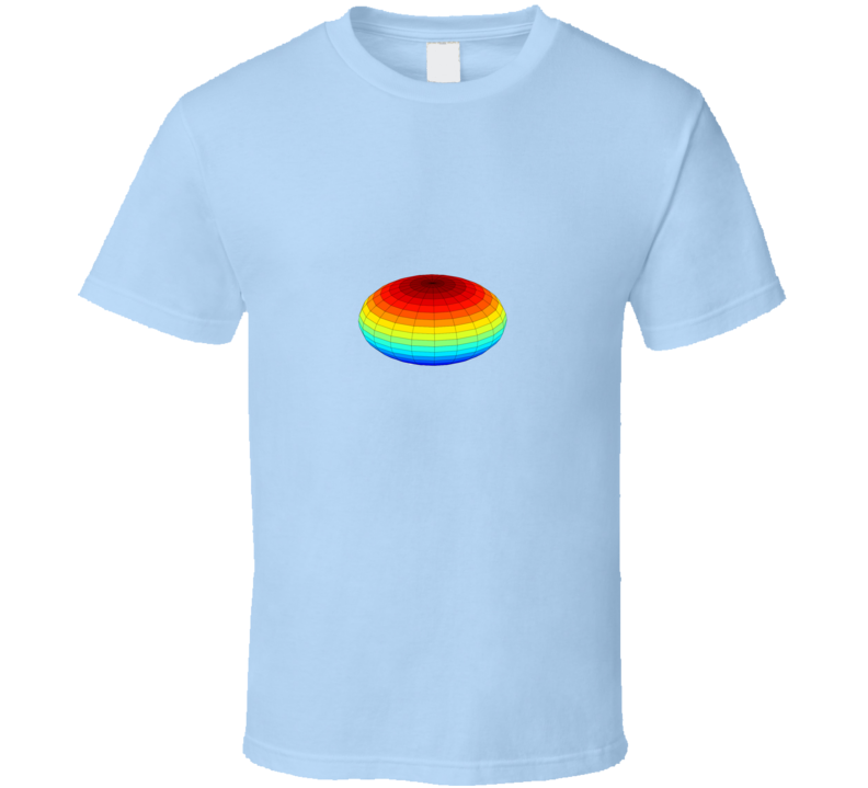 Ellipsoid T Shirt for Stats or Math Geeks
