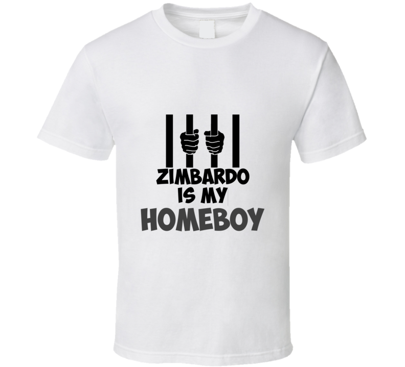 Zimbardo Homeboy Tshirt Funny unique gift for stats geek student prof researcher