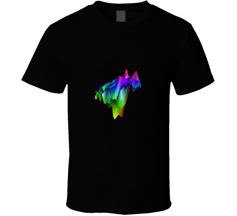 3D R Graph Tshirt Great shirt for stats geek R users students prof