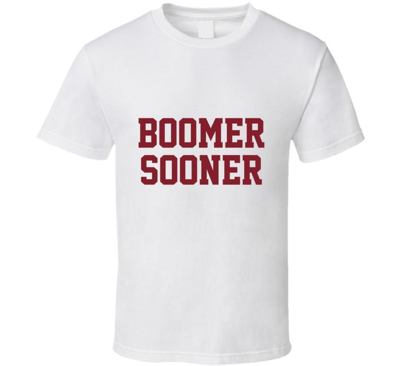 Oklahoma Boomer Sooner Tshirt