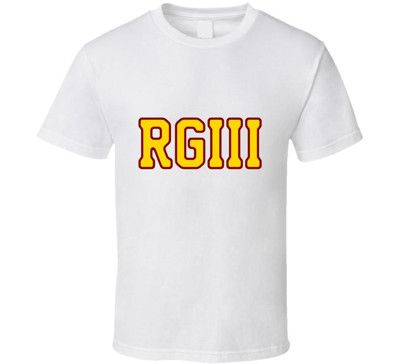 RGIII RG3 White Tshirt