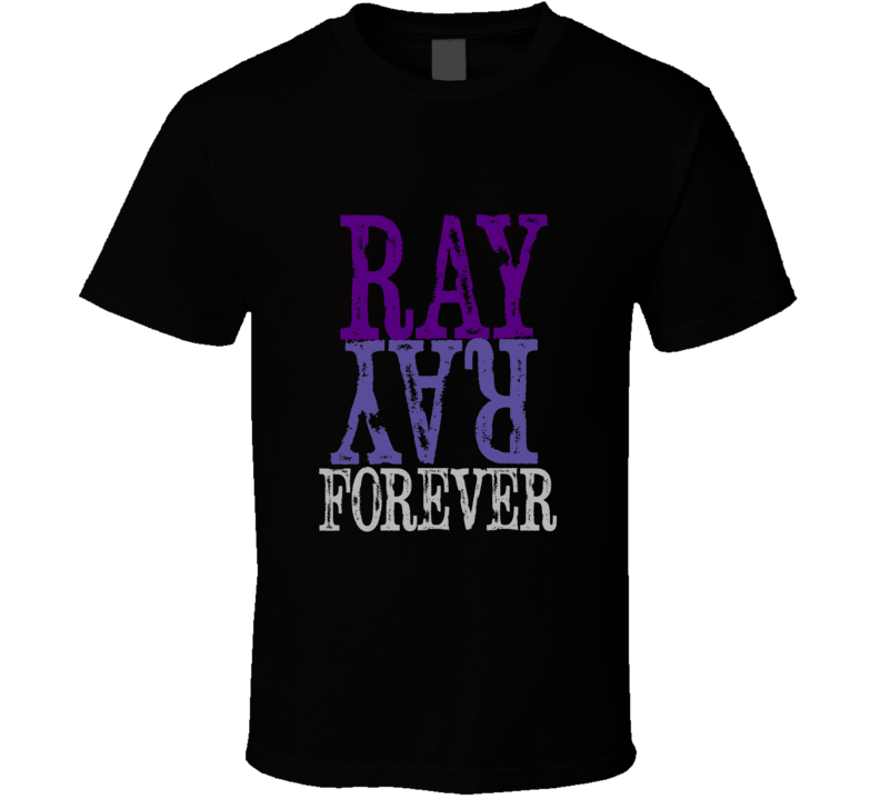 Ray Lewis Reitrement Ray Ray Forever Black T-Shirt