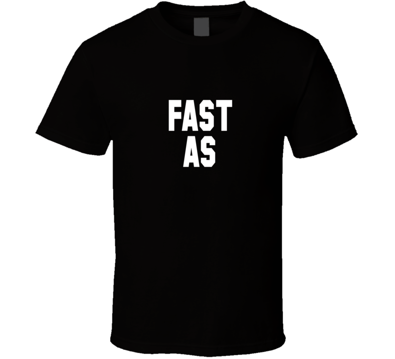 Jacoby Jones Fast As Black T Shirt