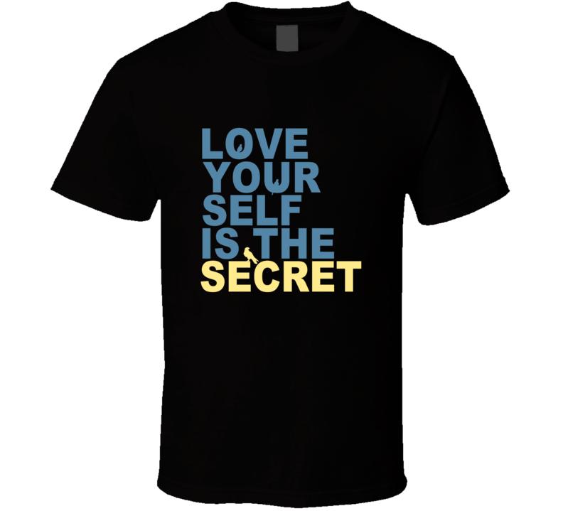 Love Yourself is the Secret Lenny Kravitz Black T Shirt