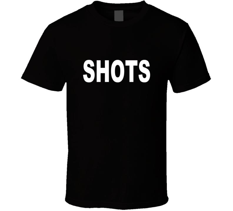 Shots Buckwild T Shirt