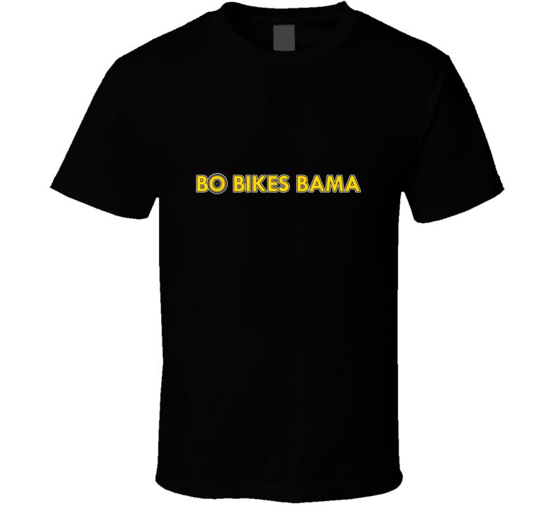 Bo Bikes Bama Bo Jackson T Shirt With Spokes