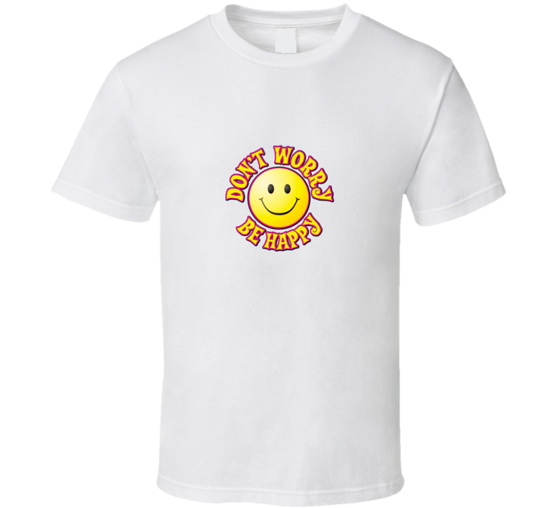 Don't Worry Be Happy Bobby McFarin White T Shirt