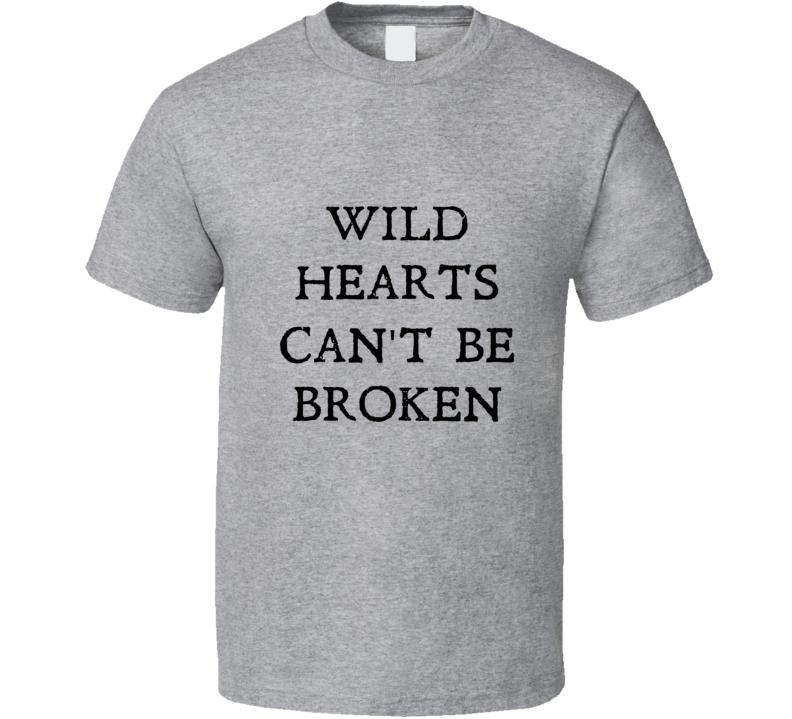 Wild Hearts Can't Be Broken Michelle Keegan Sport Grey T Shirt